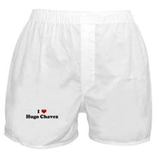 I Love Hugo Chavez Boxer Shorts