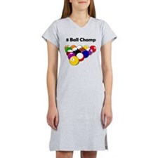 8 Ball Champ Women's Nightshirt