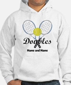 Personalized Tennis Doubles Hoodie