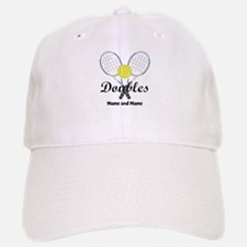 Personalized Tennis Doubles Baseball Baseball Cap