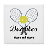 Tennis Tile Coasters