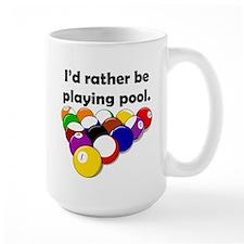 Playing Pool Mug