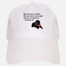 Old Black Lab Baseball Baseball Cap