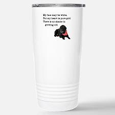 Old Black Lab Travel Mug