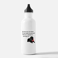 Old Black Lab Water Bottle
