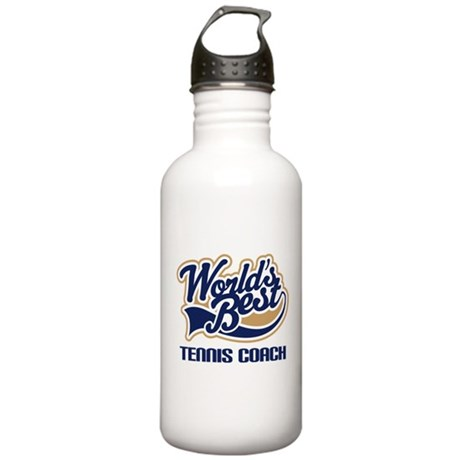 Tennis Coach (Worlds Best) Stainless Water Bottle