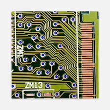Macrophotograph of printed circuit board - Queen D