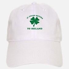 If found return to Ireland Baseball Baseball Cap