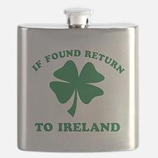 If found return to Ireland Flask
