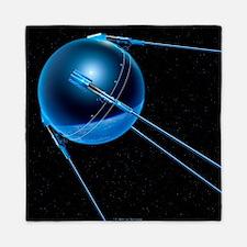 Sputnik 1 satellite - Queen Duvet