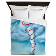 Tornado dynamics, artwork - Queen Duvet
