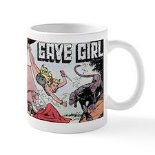 Cave Girl Catfight Mug