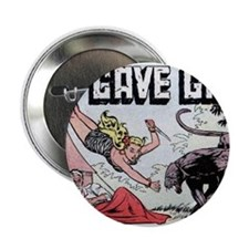 "Cave Girl Catfight 2.25"" Button"