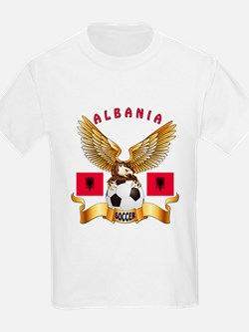 Albania Football Design T-Shirt