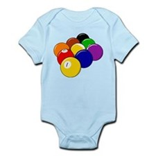 Nine Ball Rack Infant Bodysuit