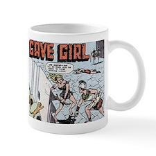 Cave Girl Vs. The Amazons Mug