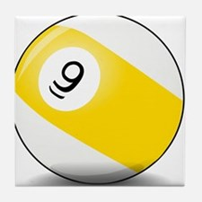 Nine Ball Tile Coaster