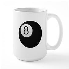 Black Eight Ball Mug