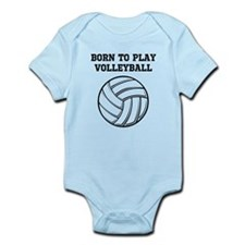 Born To Play Volleyball Infant Bodysuit