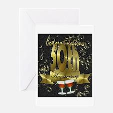 50th anniversary congradulations Greeting Card