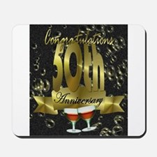 50th anniversary congradulations Mousepad