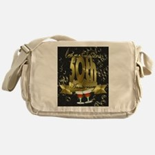 50th anniversary congradulations Messenger Bag