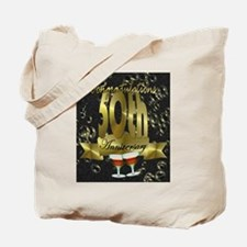50th anniversary congradulations Tote Bag