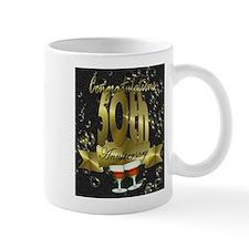 50th anniversary congradulations Mug