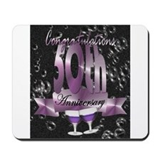50th anniversary congratulations Mousepad
