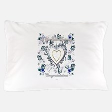 golden anniversary 50th art illustration Pillow Ca