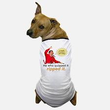 Hugo Chavez Sulphur Smell Dog T-Shirt