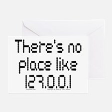 Home (dots) Greeting Cards (Pk of 10)