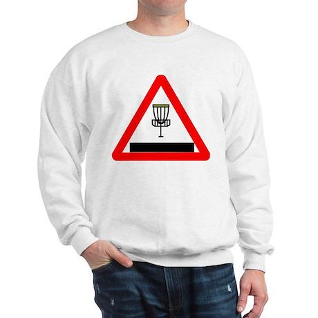 Disc Golf Sign Sweatshirt