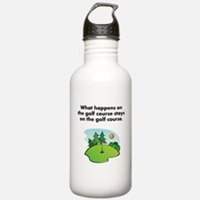 Stays On The Golf Course Water Bottle