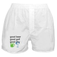 Good Golf Good Day Boxer Shorts