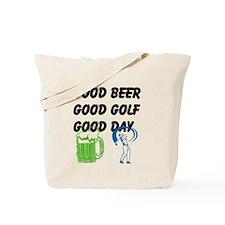 Good Golf Good Day Tote Bag