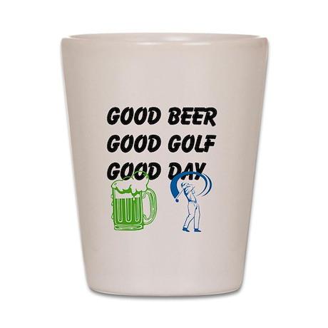 Good Golf Good Day Shot Glass