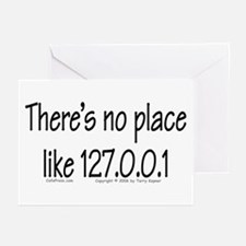Home (text) Greeting Cards (Pk of 10)
