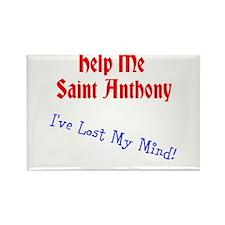 Saint Anthony Rectangle Magnet