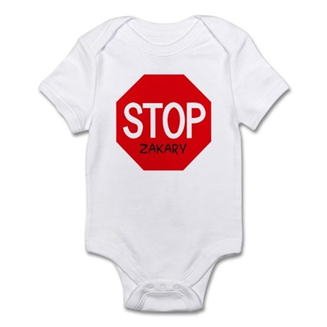 Stop Zakary Infant Bodysuit