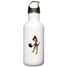 Golfer Chick Water Bottle