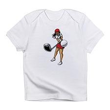 Golfer Chick Infant T-Shirt