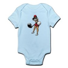 Golfer Chick Infant Bodysuit
