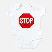Stop Zaire Infant Bodysuit