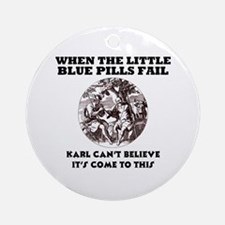Limp Karl Ornament (Round)