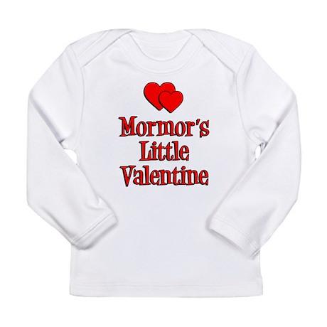 Mormors Little Valentine Long Sleeve Infant T-Shir