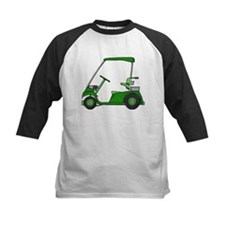 Green Golf Cart Tee
