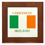 Carryduff Ireland Framed Tile