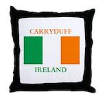 Carryduff Ireland Throw Pillow