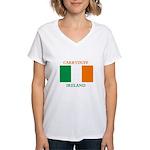 Carryduff Ireland Women's V-Neck T-Shirt